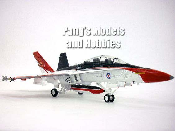 Boeing F-18 (CF-18) Canadian AF 1/72 Scale Diecast Metal Airplane by Hobby Master