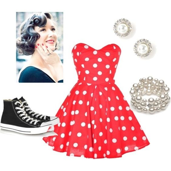 50s style dresses 50th