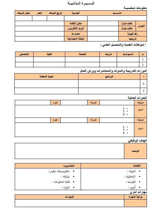 76 نموذج سيرة ذاتية عربي انجليزي وورد فارغ وجاهز ملزمتي Floor Plans School