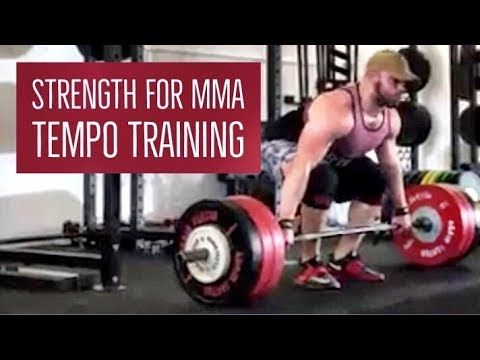 Coach William Wayland From Powering Through Performance Breaks Down A Few Tips And Tricks Using Tempo Training To Improve Strength For Mma Strength Train Mma