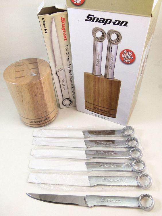 Snap On Tools  Piece Kitchen Steak Knife Set