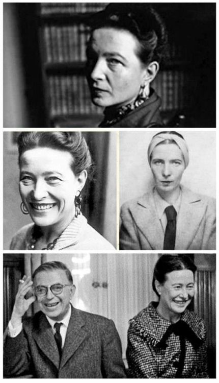 Simone-Lucie-Ernestine-Marie   (9 January 1908 – 14 April 1986), was a French writer, intellectual, existentialist philosopher, political activist, feminist, and social theorist. She made a significant contribution to the development of philosophical thought and the feminist movement of the XX century. Simone De Beauvoir became a true symbolof the sexual revolution of the 1960's. She was a life partner of Jean-Paul Sartre with whom she shared her life for 50 years