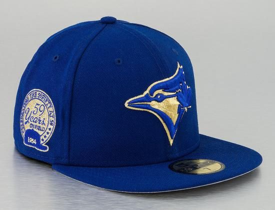 custom toronto blue jays 59fifty 59 years 59fifty fitted