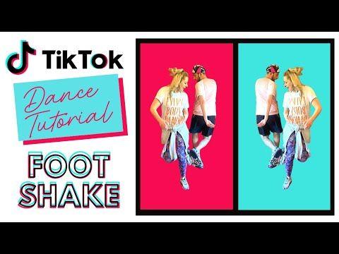 Foot Shake Tik Tok Dance Tutorial Funky Moves Youtube In 2020 Dance Tok Funky