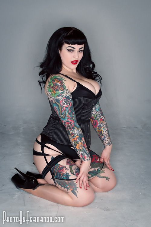 2011 fernando pacheco pinup girl http thepinuppodcast for Chubby tattooed girls
