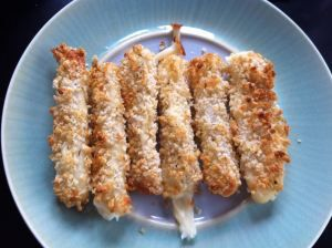 All-Natural Homemade Cheese Sticks Recipe!