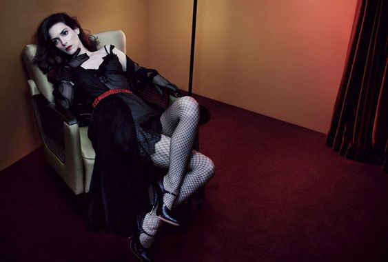 Winona Ryder on Interview magazine