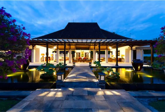 Bali style house plans modern houses in bali design for Balinese style home designs
