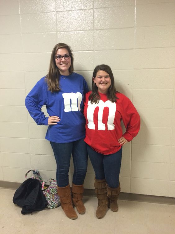 High School Twin Day Ideas Twin Day. M&M's   ...