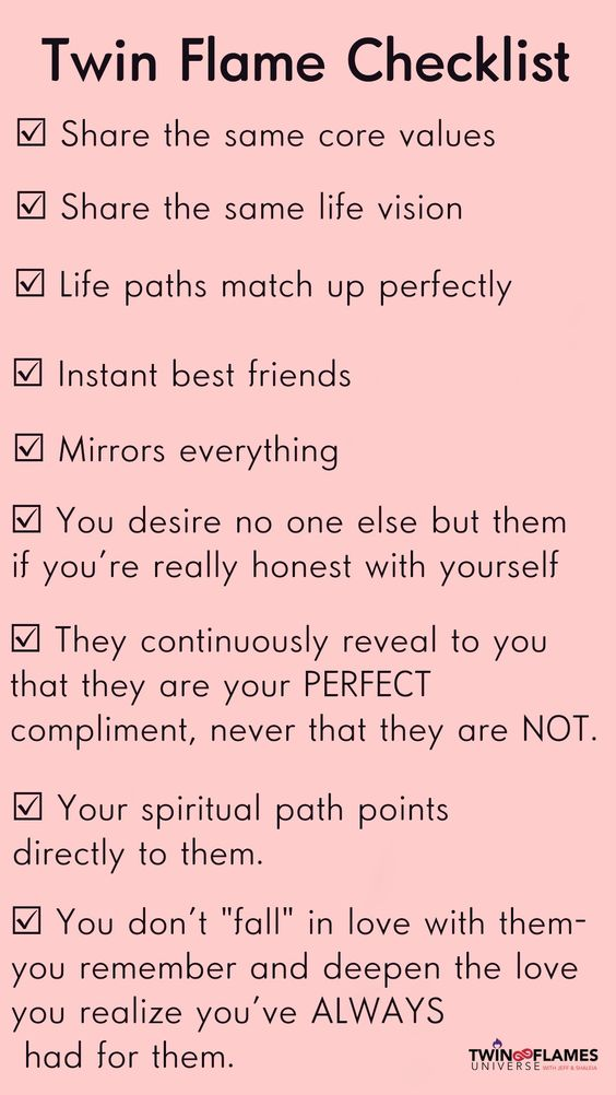 Check out this comprehensive checklist whoch contains signs that they are DEFINITELY your Twin Flame. Remember to always follow your heart and call in your support. You will find lots of support at TwinFlamesUniverse.com plus many tips and tools to help move along your Twin Flame Reunion ❤🌷🙏 #JeffandShaleia #TwinFlamesUniverse