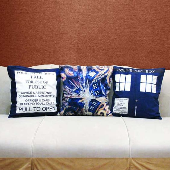 Doctor Who Cushion Covers