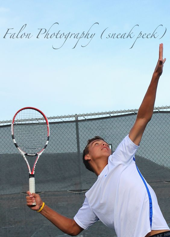 Senior Photography  Sports  Tennis  Senior Ideas