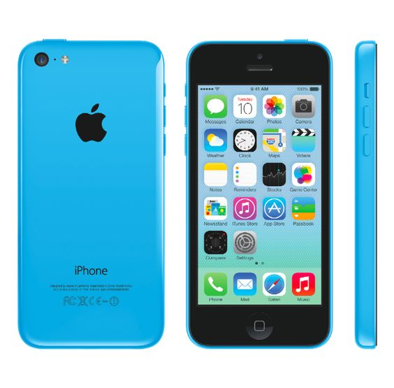 Blue iPhone 5C