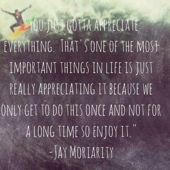 Live like Jay.