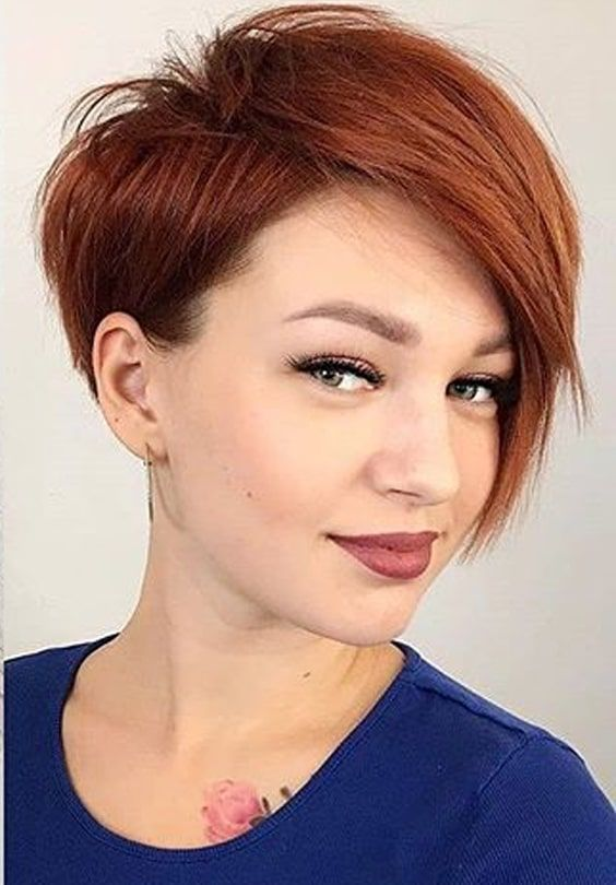 Best Short Red Haircuts To Show Off In Year 2020 Short Haircuts Fine Hair Short Hair Styles Stylish Hair