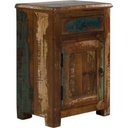 Nachttisch Avadi Massivummassivum Wandtisch Holz Und Akazienholz