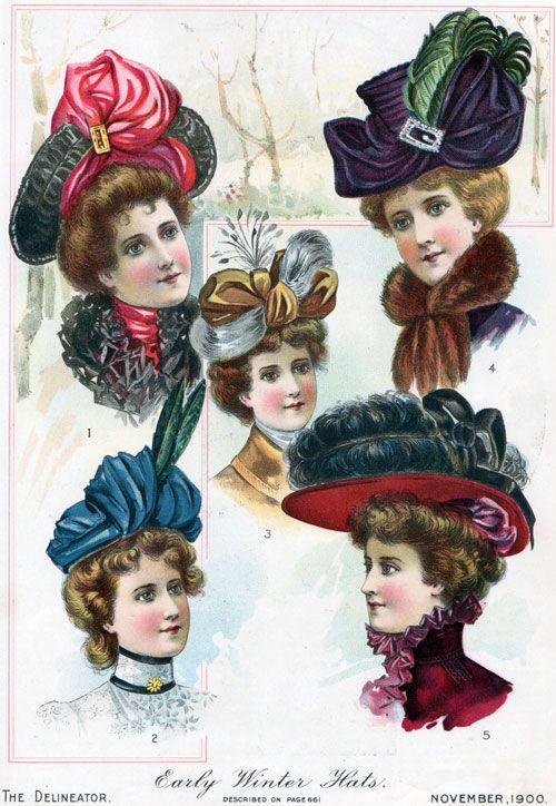 early 1900s fashion hats -#main