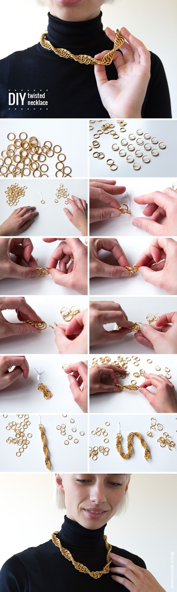 DIY - Twisted Necklace