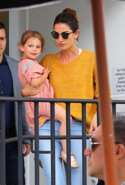 Lily Aldridge Photos: Lily Aldridge and Alessandra Ambrosio Meet Up for Lunch with Their Kids