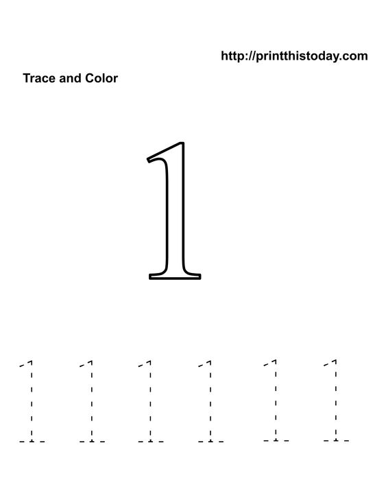 Printables Number One Worksheet For Preschoolers preschool number one worksheet 1 tracing worksheets worksheets