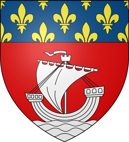 paris coat of arms | brasões | pinterest | de paris, coat of arms