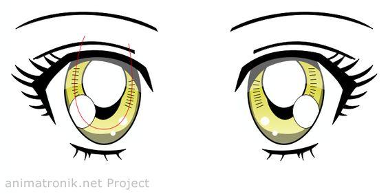 Manga Anime Augen Eyes Zeichnen Wie Malerei Zeichnungen Kawaii Inspitation Like Painting Drawings