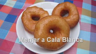 Menjar a Cala Blanca: DONUTS CASEROS