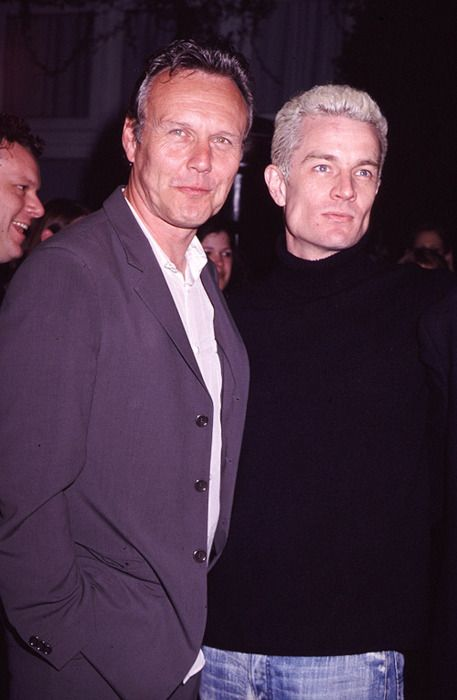 Anthony Head & James Marsters...  would love to see them together in something again!
