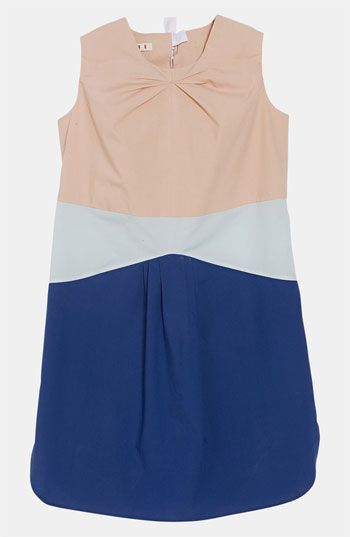 Marni Poplin Dress (Little Girls & Big Girls) | Nordstrom