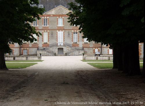 Château de Montmirail, Marne by Renaud Camus.  Oh how this stirs my writer's imagination.