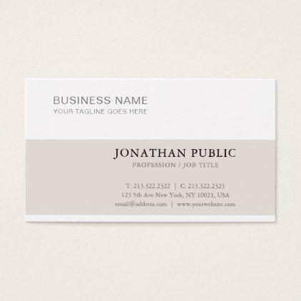 Stylish clean creative modern plain trendy luxury business card stylish clean creative modern plain trendy luxury business card luxury business cards colourmoves