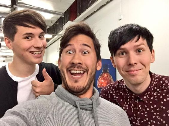 MARKIPLIER AND DAN AND PHIL