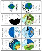 days of creation minibook