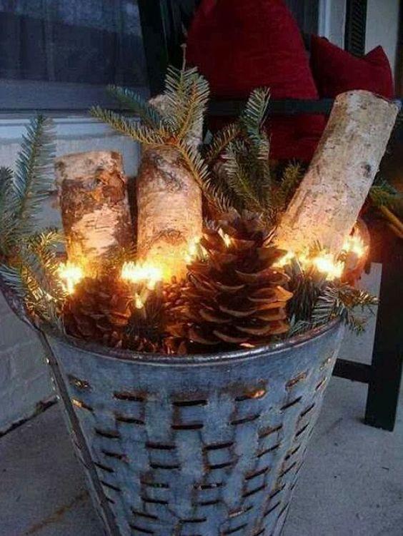 Decoratie idee n voor kerst interieur inspiratie pinterest kerst tuin en met - Home decoratie ideeen ...