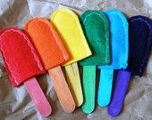 felt learning tool for toddlers.