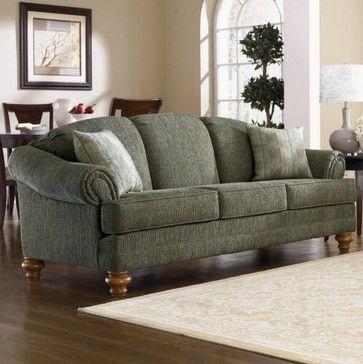 Traditional Sofa Green Fabric And Sofa On Pinterest