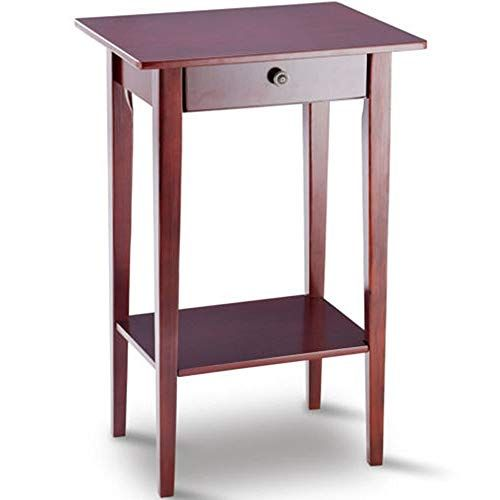 Tall Side Table With Shelves