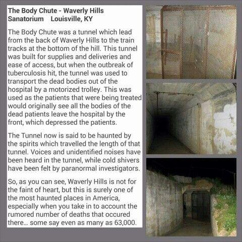 The Body Chute, Waverly Hills Sanitorium, Louisville, Kentucky