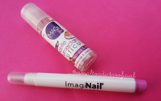 Esmaltoadictas: [Review] Aceite de cutículas Roll On + BONUS - Imagi Nail