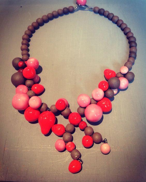 Bubbles by Gum #MisterGum#handmade#France#bijoux#collier#faitmain#cadeau#créateur#Villecroze