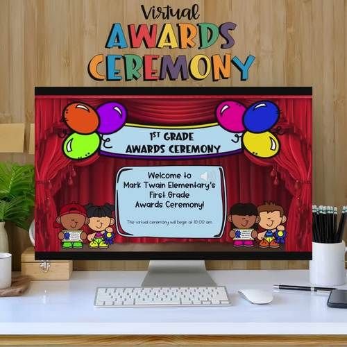 Prek Tk Awards Ceremony In 2021 Student Awards Distance Learning Awards Ceremony