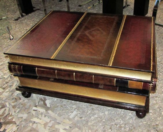 Maitland Smith Leather Book Coffee Table Projects I Would Like To Do Pinterest Leather Books
