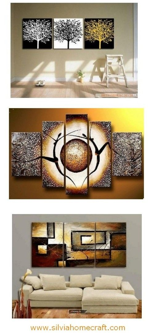 Abstract Painting Canvas Painting Living Room Wall Art Modern