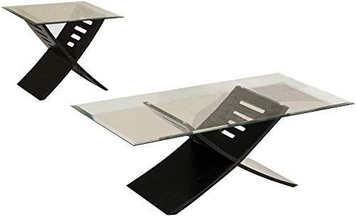 New Acme Elhan Black Coffee End Table Set 3 Piece Online End
