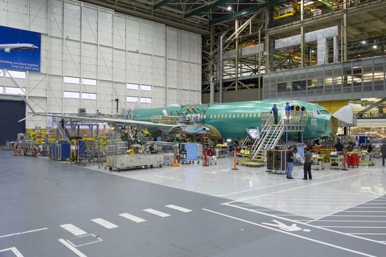 Getting in shape: Boeing 737 MAX 8