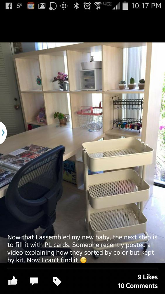 tina larson office remodel blonde wood office