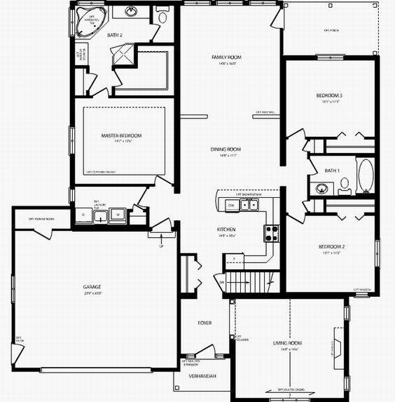 Rosedale Floor Plan 2011sq Ft Modular Built Homes