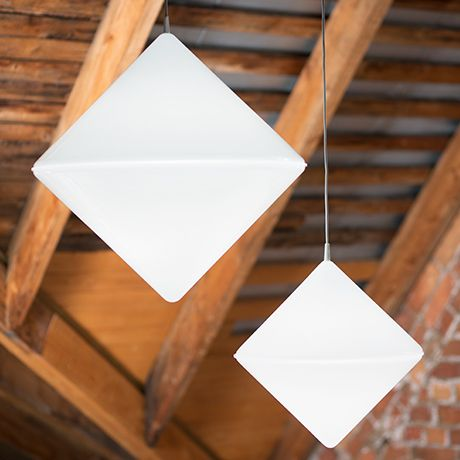 Rein minimalistische Lichtobjekte
