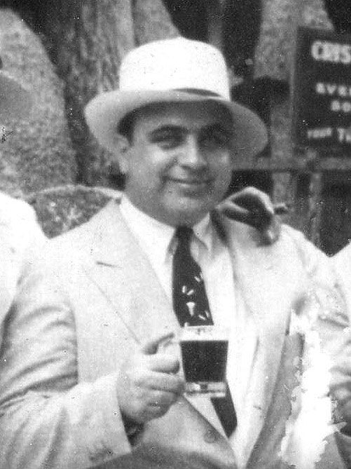 Capone Having A Prohibition Brew Those With Power Had The