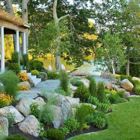 50 New Front Yard Landscaping Design Ideas With Images Rock